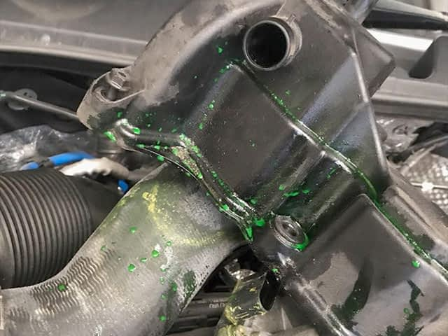 Audi Coolant Leak