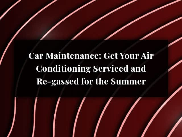 Air Conditioning Service & Regas